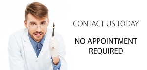 No Appointment Required or Needed